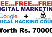 Free digital marketing and ethical hacking course