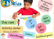 Playschool, daycare in ramnagar, mkids, preschool
