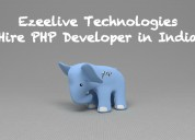 Hire php developer in india - ezeelive