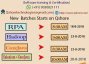 Selenium classroom online training