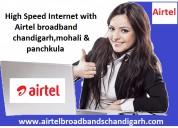 Airtel broadband chandigarh mohali & panchkula has