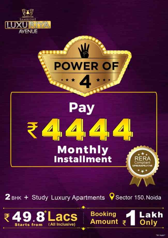 Buy Samridhi Luxuriya Apartment in Noida