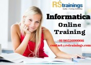 Informatica online training in delhi, noida.