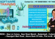 Web development training in bhubaneswar