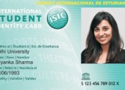 Isic cards get you access to a world of discounts