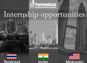 International internship program by pursueasia