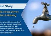 Korba gis, house service connection & metering