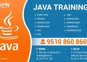 Looking for 6 months java training in noida?