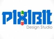 Logo design in gujarat(india) - pixibit design stu
