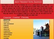 hotel in dalhousie, hotel president dalhousie