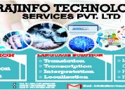 Data entry, translation & manpower outsourcing ser