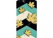 Maple leaf abstract mobile case