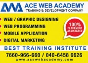 Web designing training institute in secundrabad