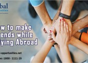 How to make friend while studying abroad