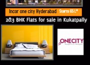 Prelaunch 2 and 3 bhk flats for sale in kukatpally