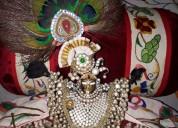 Krishna deity clothes