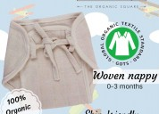 Organic knit nappy, reusable nappies, super soft b