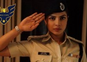 Priya golani as police lady officer
