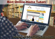 Best online home tutors