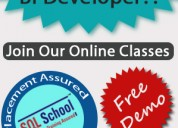 Msbi practical and real time online training @ sql