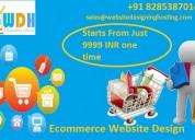 E-commerce website design at affordable price
