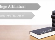 College affiliation o level approval consultancy