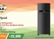 Buy whirlpool ff refrigerator 265l at best price -
