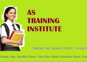 As training institute ( banking, insurance & finan