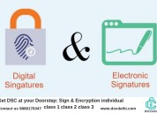 Digital Signature Certificate services Provider