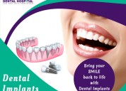Restore missing tooth with immediate dental implan