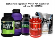Protein supplement for manufacture muscleblaze whe
