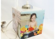 Photo cube lamp with hanging - 5.5""