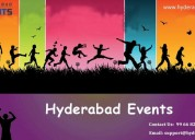 Hyderabad events | event planners & organizers in