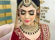 Freelance makeup artist delhi ncr contact us +91-9