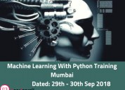 Python machine learning course mumbai