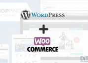 Building an online store with wordpress