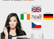 Consult the best europe student visa consultant in