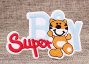 Super boy custom patches