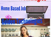 Home based part time online copy  pasting jobs ear