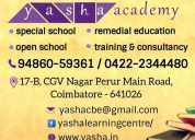 Yasha academy, open school in coimbatore