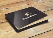 Visiting card design in gujarat