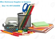 Stationery suppliers gurgoan dial +91 9971666898