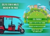 E rickshaw manufacturers in delhi