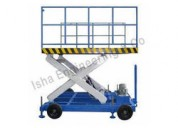High Rise Hydraulic Scissor Lift Manufacturer