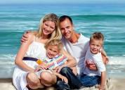 Family portraits - digital portrait painting servi