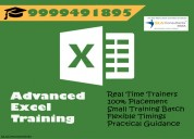 Best advanced excel training institute in delhi