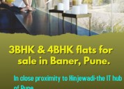 Buy 3,4 bhk flats sale in baner pune