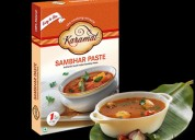 Ready to cook sambhar