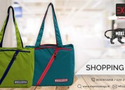 Manufacturer multi-coloured shopping bags