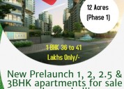 Reco-liv | Flats for Sale | Furnished 2,2.5,3BHK